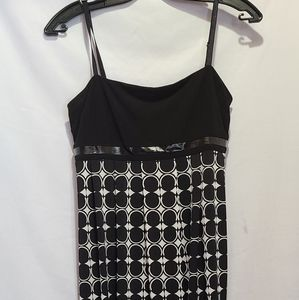Frank Lyman Polka Dot Speggiti Strap short Dress